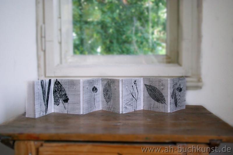 Haus am See. Drei Künstlerbücher.